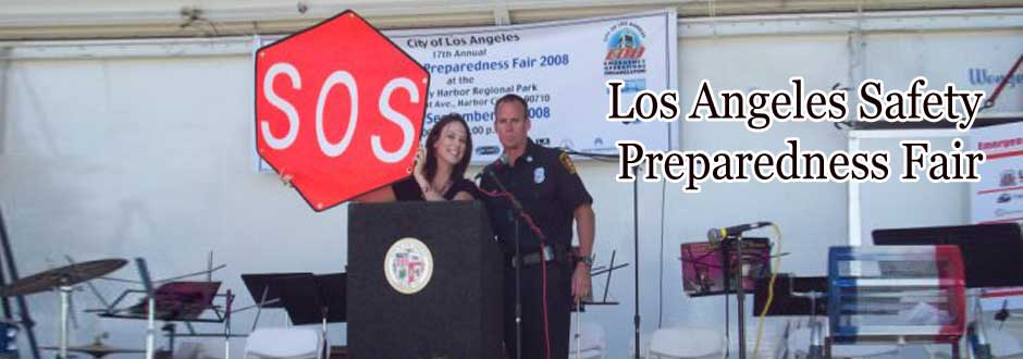 SOS Flag – Los Angeles Safety Preparedness Fair